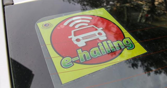 ehailing sticker