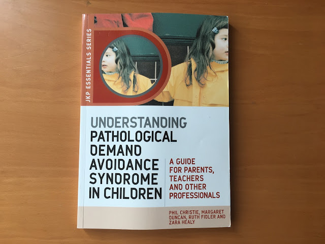 Book cover Understanding Pathological Demand Avoidance Syndrome in children