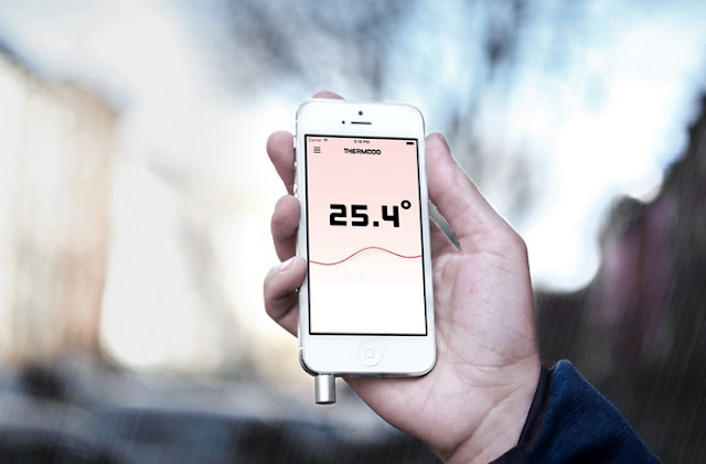 Thermometer Device for Mobile