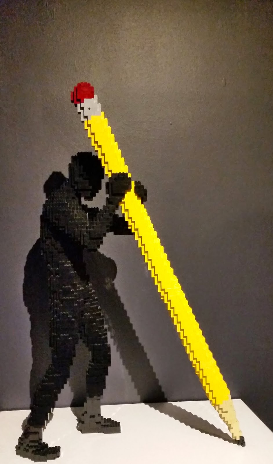 Lego Man and Pencil
