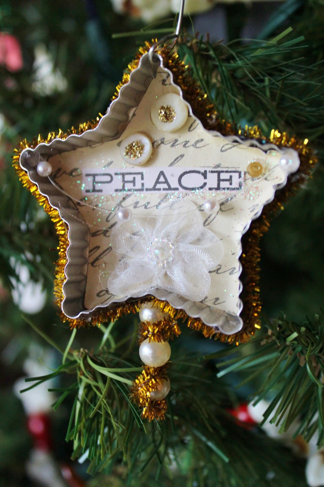 ~Ohio Thoughts~: Cookie Cutter Christmas Ornaments