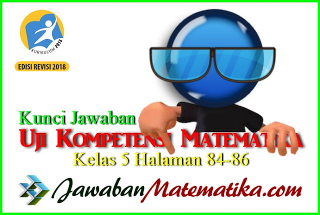 Kunci Jawaban Matematika Kelas 5 Halaman 84