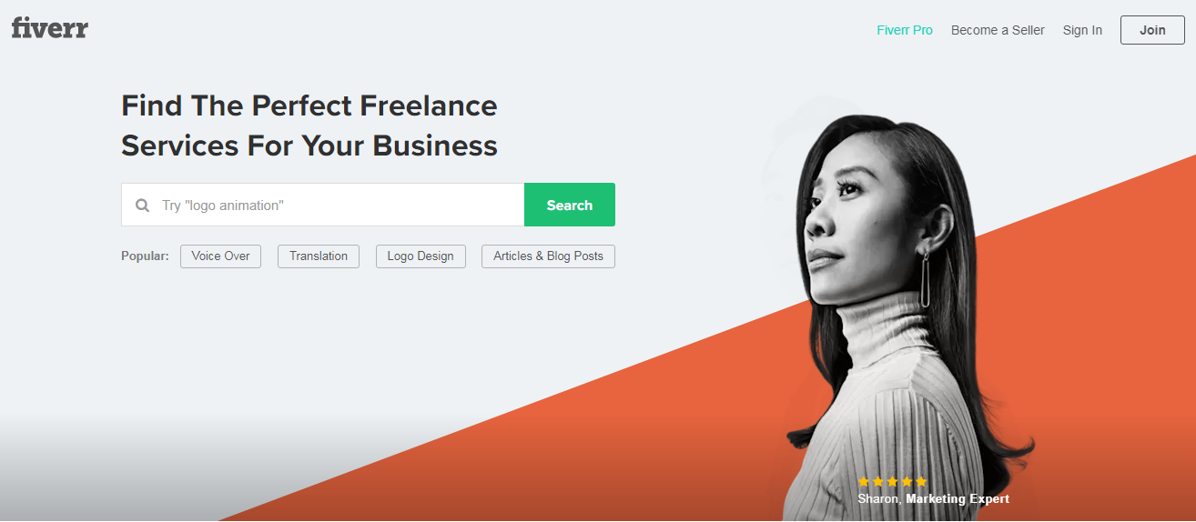 Fiverr marketplace