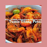 Udang merupakan salah satu materi dasar olahan kuliner yang berhabitat di air bahari dan air Resep Tumis Udang Petai ala Padang Nan Bergizi dan Enak