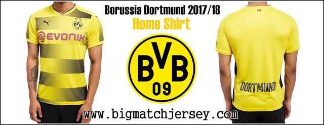 PUMA Borussia Dortmund 2017-18 Home Shirt