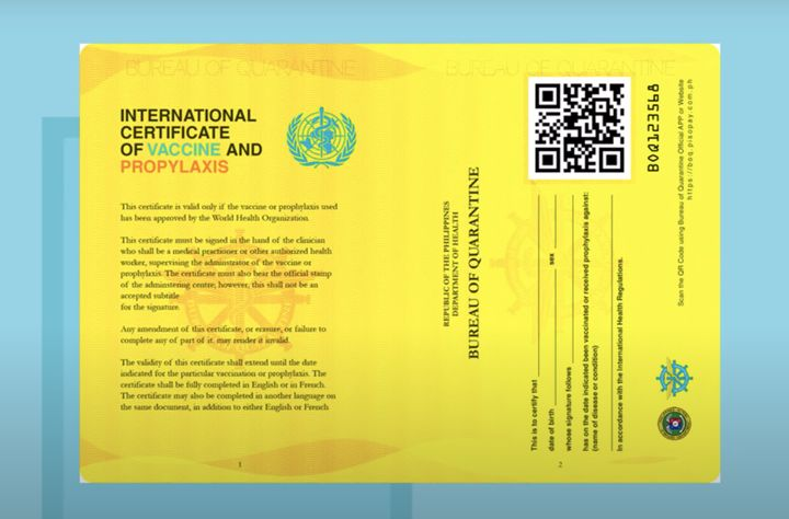 How to get an International Certificate of Vaccination
