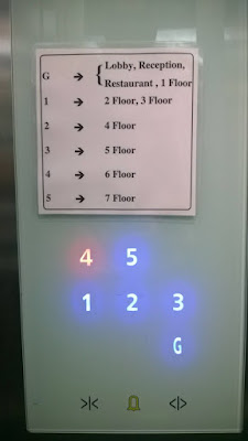 elevator buttons control panel design fail