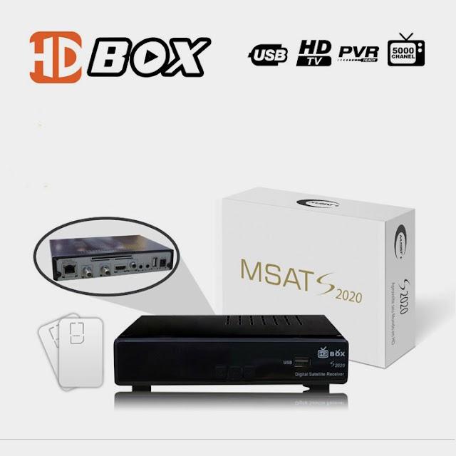 MSAT HD BOX S2020 NOVA ATUALIZAÇÃO-27/05/2017