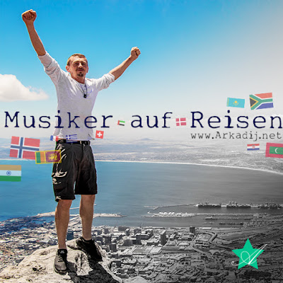 Bremerhavener Arkadij Musiker auf Reisen neues Album Weltreise 2019