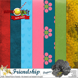 Scrap Twist Blog Train - July - Friendship