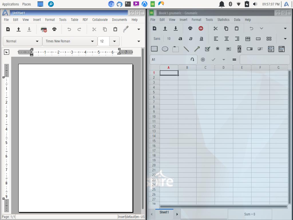 Freespire 7.0 vem com desktop Xfce