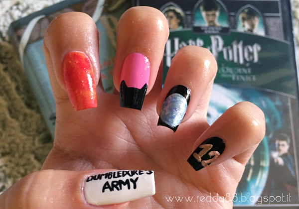 harry potter and the order of the phoenix nail art