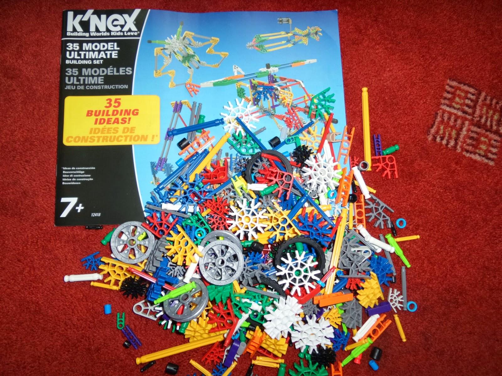 Pile of K'NEX