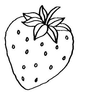 Imagens De Frutas E Legumes Para Colorir
