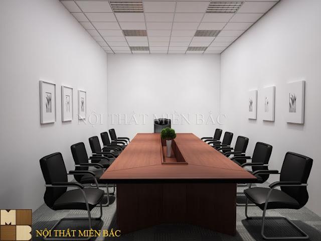 Bàn ghế phòng họp cần tạo đủ không gian cho mọi người