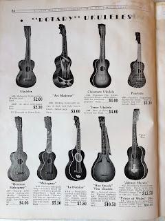 Rotary ukuleles