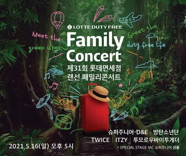BTS Until TWICE Will Liven Up The 'Lotte Duty Free Family Concert'