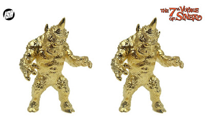 The 7th Voyage of Sinbad Gold Cyclops Vinyl Figure by Justin Ishmael