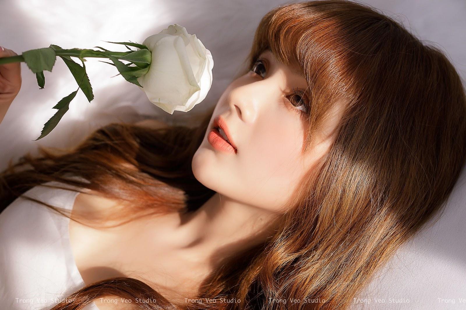 Ngắm bộ ảnh hot girl Hương Lê