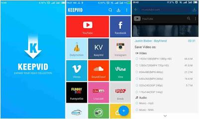 KeepVid Youtube Downloader