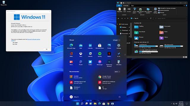 Perubahan Antarmuka Windows 11