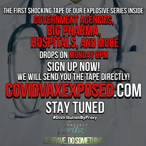 project veritas on covid vax exposed