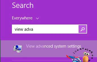 View Advanced System Setting -  cara mengoptimalkan kinerja laptop