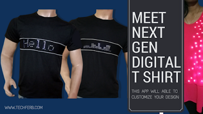 Meet Next Generation Programmable digital T Shirt