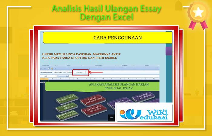 Analisis Hasil Ulangan Essay