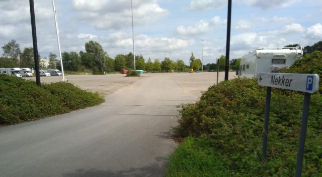 Estacionament d'autocaravanes a Mechelen