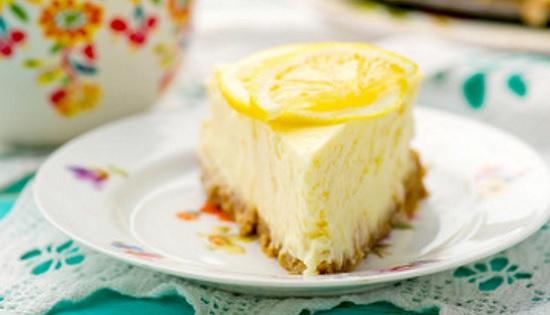 Pay de limon sin horno