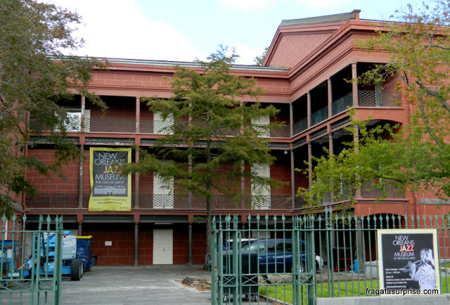 Museu Nacional do Jazz, em Nova Orleans