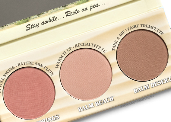 TheBalm Girls Getaway Trio Palette Review