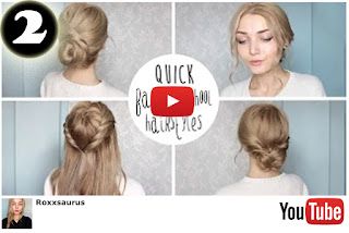"vídeo ""Easy Cute Back To School Hairstyles"""