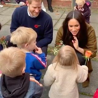 Meghanand Harry reveal Archie got his first teeth to young child in Windsor Nov 2019