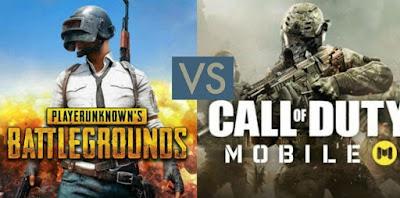 Gambar COD Mobile vs PUBG Mobile, Mana yang Terbaik?