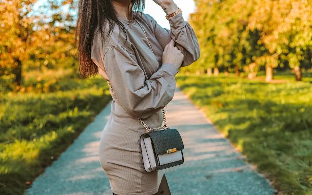 Kolory jesieni - jesienna stylizacja z sukienką - Czytaj więcej »