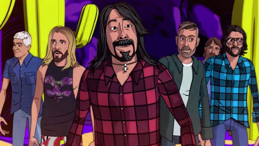 """""""Chasing Birds"""", Foo Fighters y su nuevo video animado"""