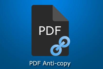 Bản quyền miễn phí PDF Anti-Copy Pro, bảo vệ, chặn sao chép dữ liệu file pdf