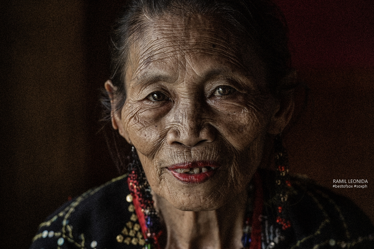 A Portrait of a Tboli Woman