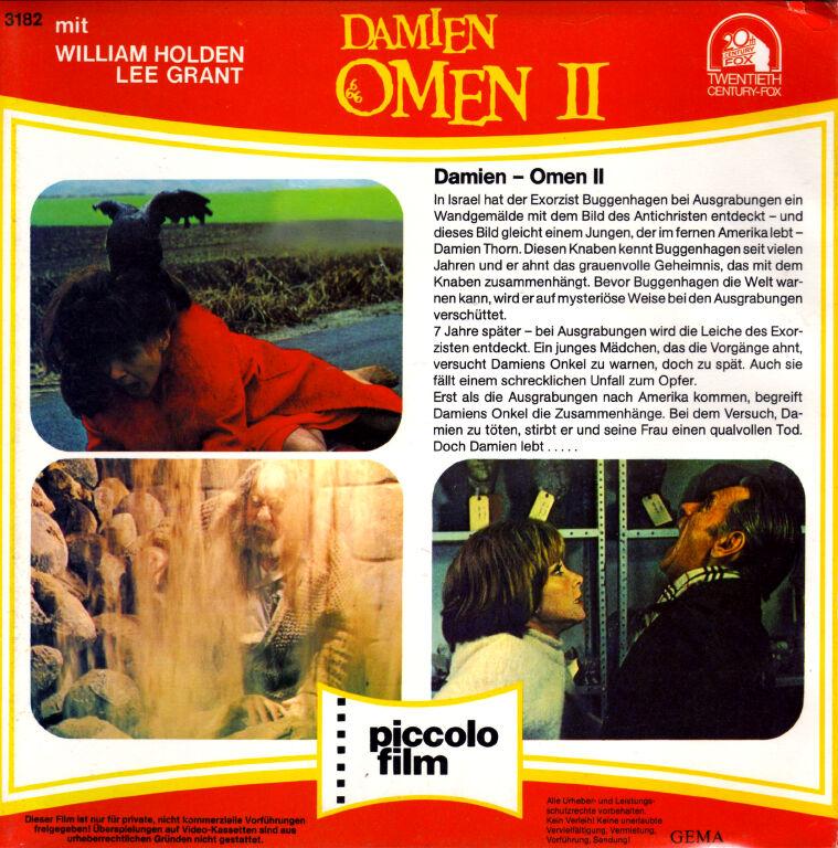 Todo El Terror Del Mundo: La Maldicion De Damien (La