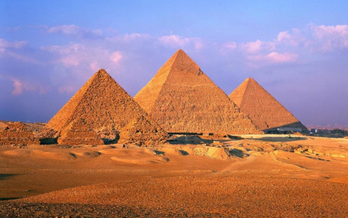arquitectura egipcia en la edad antigua