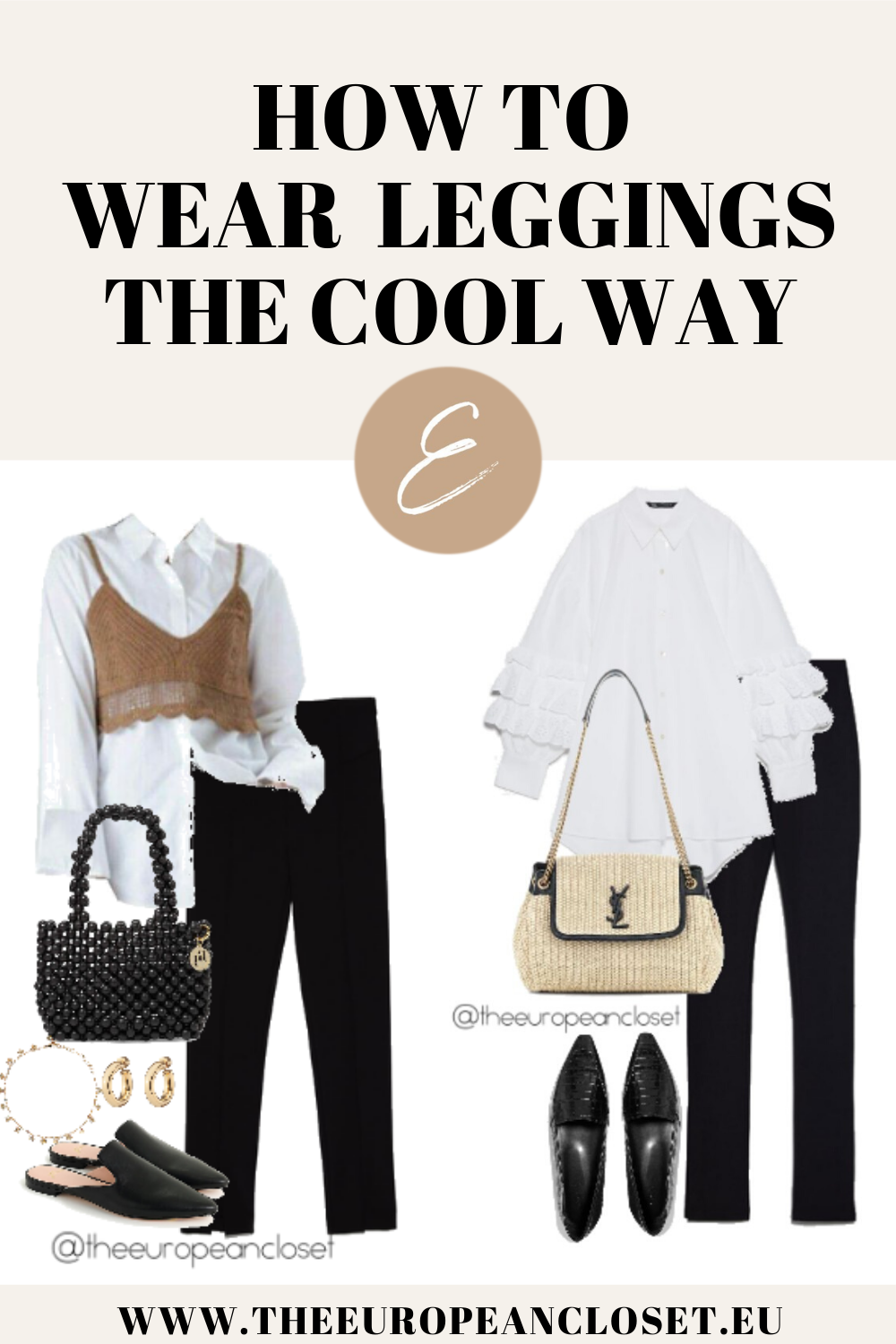 How To Wear Leggings The Cool Way