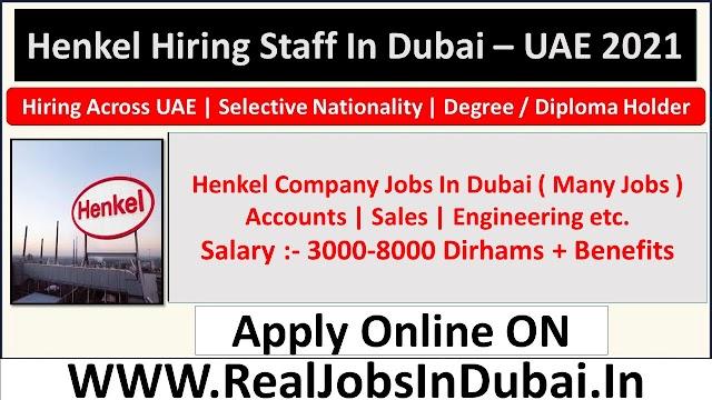 Henkel Careers Jobs Opportunities In Dubai  UAE 2021