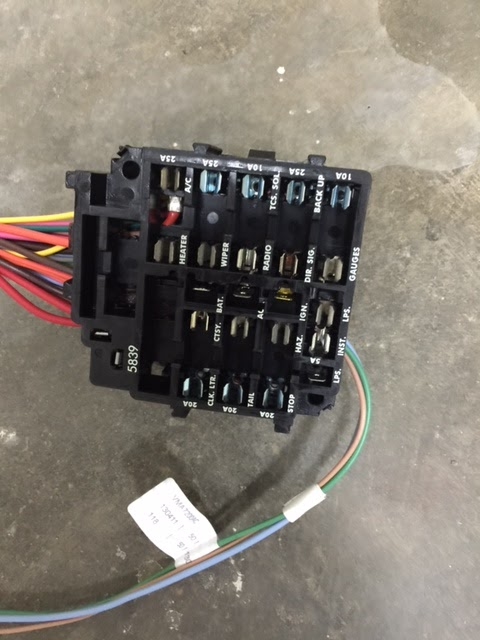 C3 Skunk Works: Dash wiring harness replacement on