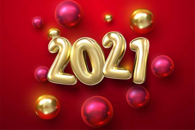 صور العام الميلادي الجديد 2021