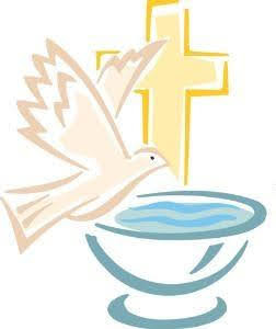 Image of bird with Cross and  dish of water.