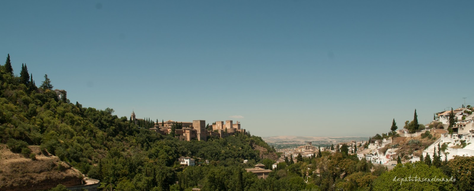 Vistas desde la Abadía del Sacromonte