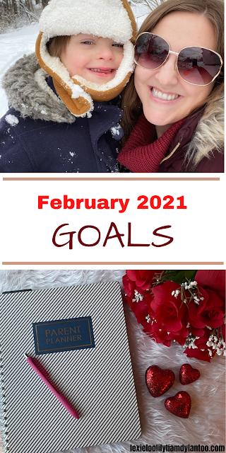 February 2021 Goals - Mom Blog / Parenting Blog / Pittsburgh Blog