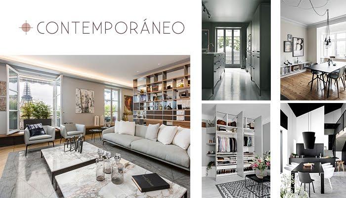contemporáneo estilo decoración contemporánea